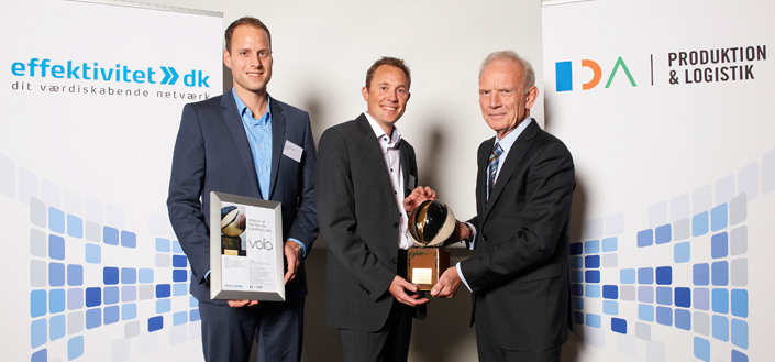 VOLA wins the Danish Logistics Prize 2012